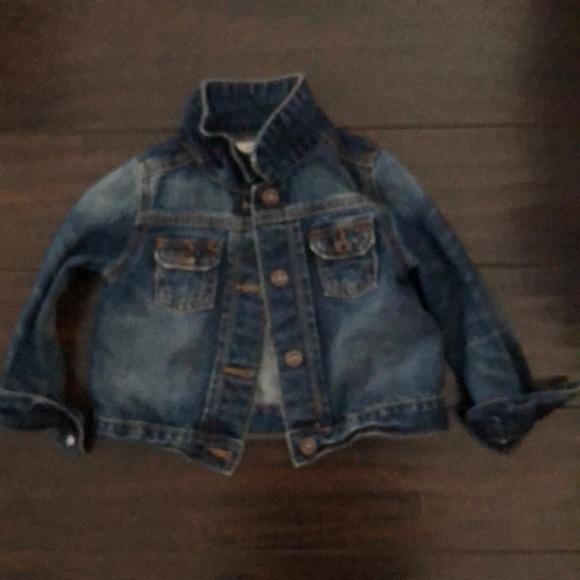 OshKosh B'gosh Other - Baby girl jean jacket excellent condition!